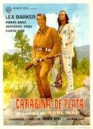 Winnetou - 2. Teil - Spanish Movie Poster (xs thumbnail)