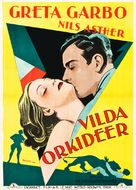 Wild Orchids - Swedish Movie Poster (xs thumbnail)