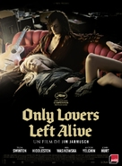Only Lovers Left Alive - French Movie Poster (xs thumbnail)