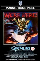 Gremlins - British VHS movie cover (xs thumbnail)