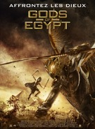 Gods of Egypt - French Movie Poster (xs thumbnail)