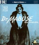 Dr. Mabuse, der Spieler - Ein Bild der Zeit - British Blu-Ray movie cover (xs thumbnail)