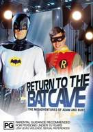 Return to the Batcave: The Misadventures of Adam and Burt - Australian DVD movie cover (xs thumbnail)