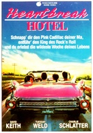 Heartbreak Hotel - German VHS movie cover (xs thumbnail)