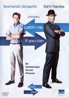 Catch Me If You Can - Turkish DVD movie cover (xs thumbnail)