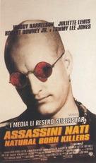 Natural Born Killers - Italian Movie Poster (xs thumbnail)