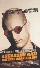 Natural Born Killers - Italian Movie Poster (xs thumbnail)