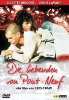 Les amants du Pont-Neuf - German Movie Cover (xs thumbnail)
