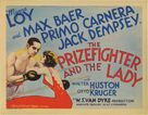 The Prizefighter and the Lady - Movie Poster (xs thumbnail)