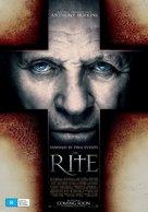 The Rite - Australian Movie Poster (xs thumbnail)