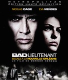 The Bad Lieutenant: Port of Call - New Orleans - French Blu-Ray cover (xs thumbnail)