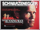 The Running Man - British Movie Poster (xs thumbnail)
