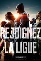 Justice League - French Movie Poster (xs thumbnail)