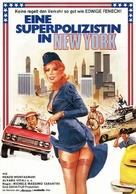 La poliziotta a New York - German Movie Poster (xs thumbnail)