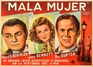 Scarlet Street - Argentinian Movie Poster (xs thumbnail)