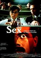 Einstein des Sex, Der - German Movie Poster (xs thumbnail)