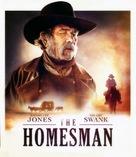 The Homesman - Blu-Ray movie cover (xs thumbnail)