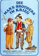 Duck Soup - German Movie Poster (xs thumbnail)
