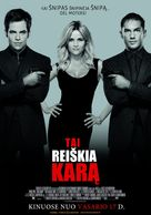 This Means War - Lithuanian Movie Poster (xs thumbnail)