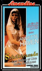 A Thousand and One Erotic Nights - French VHS cover (xs thumbnail)