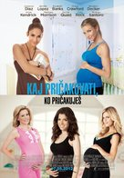 What to Expect When You're Expecting - Slovenian Movie Poster (xs thumbnail)