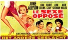 The Opposite Sex - Belgian Movie Poster (xs thumbnail)