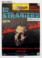 Lo straniero - Italian Movie Poster (xs thumbnail)