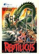 Reptilicus - Belgian Movie Poster (xs thumbnail)