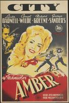 Forever Amber - Dutch Movie Poster (xs thumbnail)