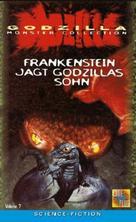 Kaijûtô no kessen: Gojira no musuko - German VHS cover (xs thumbnail)