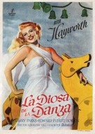 Down to Earth - Spanish Movie Poster (xs thumbnail)