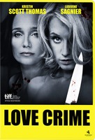 Crime d'amour - Swedish DVD cover (xs thumbnail)