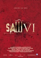 Saw VI - Italian Movie Poster (xs thumbnail)