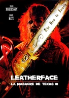 Leatherface: Texas Chainsaw Massacre III - Argentinian DVD cover (xs thumbnail)