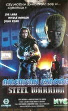 American Cyborg: Steel Warrior - Polish VHS movie cover (xs thumbnail)