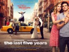 The Last 5 Years - British Movie Poster (xs thumbnail)