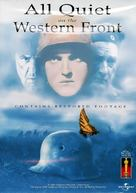 All Quiet on the Western Front - DVD movie cover (xs thumbnail)