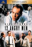 12 Angry Men - DVD cover (xs thumbnail)