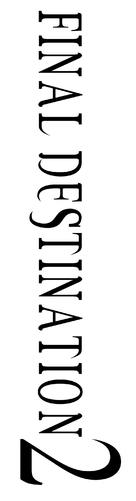 Final Destination 2 - Logo (xs thumbnail)