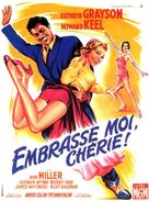 Kiss Me Kate - French Movie Poster (xs thumbnail)