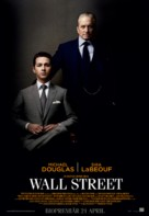 Wall Street: Money Never Sleeps - Swedish Movie Poster (xs thumbnail)