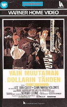 Per qualche dollaro in più - Finnish VHS movie cover (xs thumbnail)