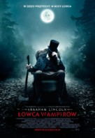Abraham Lincoln: Vampire Hunter - Polish Movie Poster (xs thumbnail)