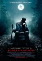 Abraham Lincoln: Vampire Hunter - Polish Movie Poster (xs thumbnail)
