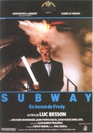 Subway - Spanish Movie Poster (xs thumbnail)