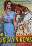 Rivolta degli schiavi, La - German Movie Poster (xs thumbnail)