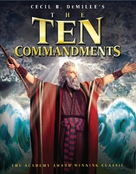 The Ten Commandments - Blu-Ray movie cover (xs thumbnail)