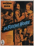 The Black Arrow - French Movie Poster (xs thumbnail)