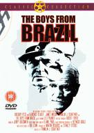 The Boys from Brazil - British DVD cover (xs thumbnail)