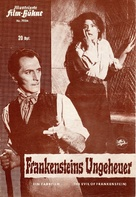 The Evil of Frankenstein - German poster (xs thumbnail)